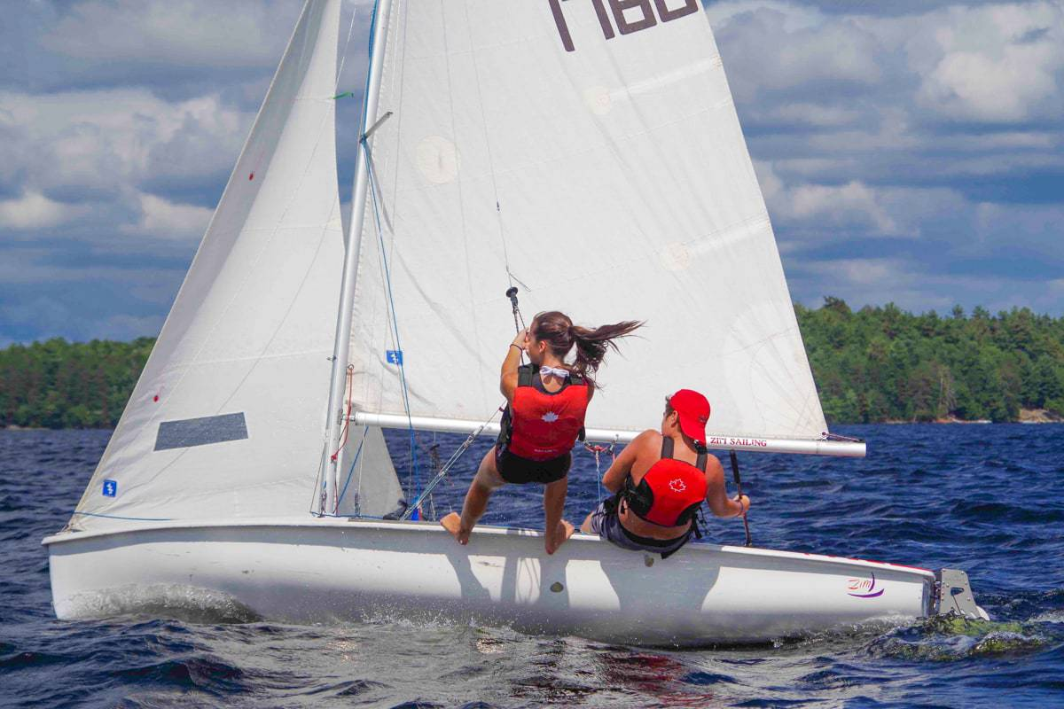Lake of Bays Sailing 2017